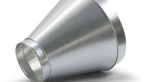 Reduzierstück von 600 mm auf 300 mm