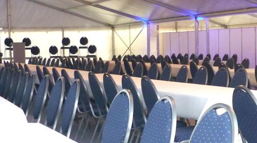 Firmenfeier, Hochzeit, Geburtstag, Jubiläum - mobile Location + Ausstattung für Ihr Event 101 - 200 Personen Gehoben Plus