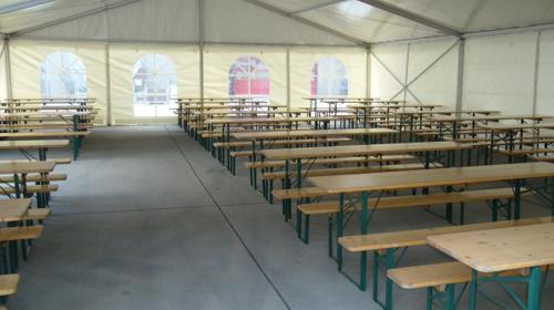 Firmenfeier, Hochzeit, Geburtstag, Jubiläum - mobile Location + Ausstattung für Ihr Event 201 - 300 Personen rustikal