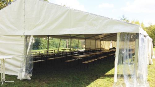 Firmenfeier, Hochzeit, Geburtstag, Jubiläum - mobile Location + Ausstattung für Ihr Event 101 - 200 Personen rustikal