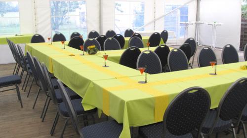Firmenfeier, Hochzeit, Geburtstag, Jubiläum - mobile Location + Ausstattung für Ihr Event 50 - 100 Personen Gehoben Plus