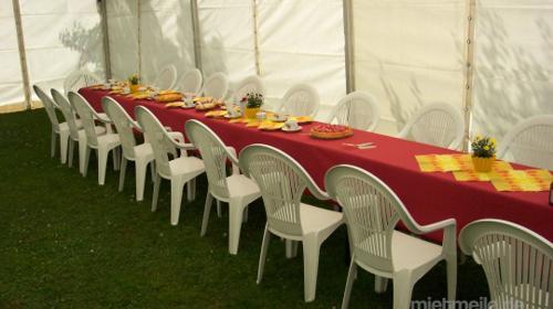 Firmenfeier, Hochzeit, Geburtstag, Jubiläum - mobile Location + Ausstattung für Ihr Event 50 - 100 Personen gehoben