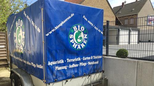 Anhängerverleih Anhängervermietung Dortmund Wickede Vermietung Verleih Anhänger 750 kg Anhänger ab 10 Euro für 4 Stunden oder 2 Tonnen Tandem mit 1,8 Metern Innenhöhe