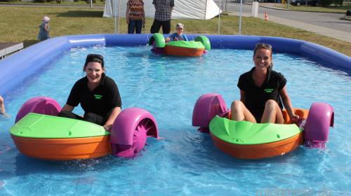 Power Paddler Tretboote mit Pool Wasserbälle