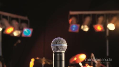 Verleih Musikanlage Mikrofon Partylicht Effekte uvm. Partyanlage