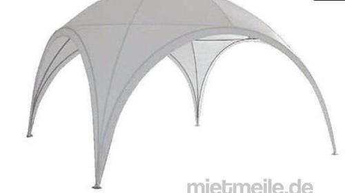 Event Shelter 3 x 3 x 2,2 m / Grau-Grün / inkl. Auf- und Abbau auf Rasen / mit Multifunktionsboden