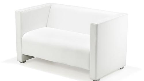 Loungesofa, Sofa weiß