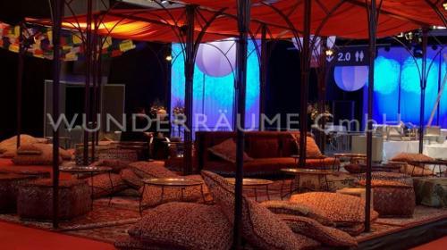 Orient & 1001 Nacht -  Dekorationspaket! WUNDERRÄUME GmbH vermietet: Dekoration / Kulisse für Event, Messe, Veranstaltung, Incentive, Mitarbeiterfest, Firmenjubiläum
