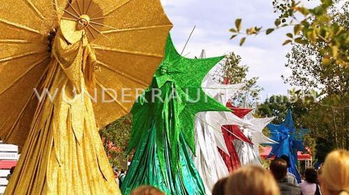 """Riesenfigur """"Sonne"""" - WUNDERRÄUME GmbH vermietet: Dekoration/Kulisse für Event, Messe, Veranstaltung, Incentive, Mitarbeiterfest, Firmenjubiläum"""