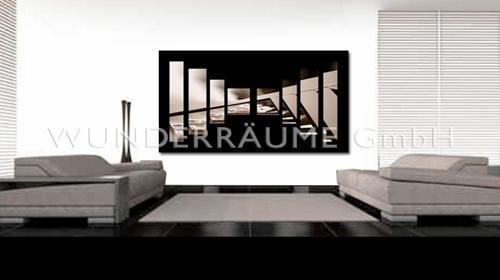 Designer-/Kunstrahmen Echo Pillars - WUNDERRÄUME GmbH vermietet: Dekoration/Kulisse für Event, Messe, Veranstaltung, Incentive, Mitarbeiterfest, Firmenjubiläum