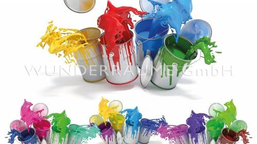 """Leinwanddruck """"Farben"""" - WUNDERRÄUME GmbH vermietet: Dekoration/Kulisse für Event, Messe, Veranstaltung, Incentive, Mitarbeiterfest, Firmenjubiläum"""