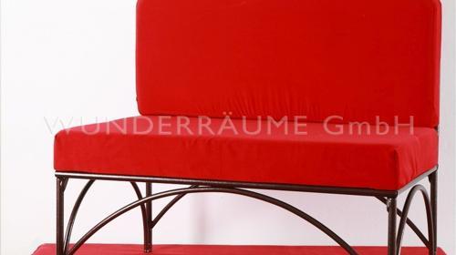 Designsofa rot - WUNDERRÄUME GmbH vermietet: Dekoration/Kulisse für Event, Messe, Veranstaltung, Incentive, Mitarbeiterfest, Firmenjubiläum