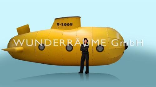 U-Boot - WUNDERRÄUME GmbH vermietet: Dekoration/Kulisse für Event, Messe, Veranstaltung, Incentive, Mitarbeiterfest, Firmenjubiläum