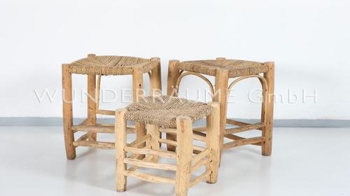 Basthocker-Set - WUNDERRÄUME GmbH vermietet: Dekoration/Kulisse für Event, Messe, Veranstaltung, Incentive, Mitarbeiterfest, Firmenjubiläum