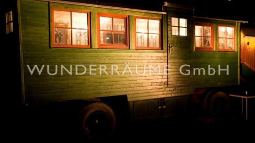 Zirkuswagen als Bar, Salon od. Lounge;  WUNDERRÄUME GmbH vermietet: Dekoration/Kulisse für Event, Messe, Veranstaltung, Incentive, Mitarbeiterfest, Firmenjubiläum