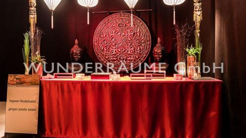 Asia-Bar - WUNDERRÄUME GmbH vermietet: Dekoration/Kulisse für Event, Messe, Veranstaltung, Incentive, Mitarbeiterfest, Firmenjubiläum