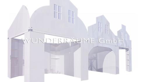 Reihenhaus (3er) - WUNDERRÄUME GmbH vermietet: Dekoration/Kulisse für Event, Messe, Veranstaltung, Incentive, Mitarbeiterfest, Firmenjubiläum