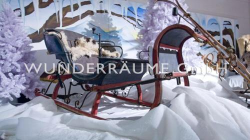 10 Schlitten/Pferdeschlitten - Original; Nostalgie WUNDERRÄUME GmbH vermietet: Dekoration / Kulisse für Event, Messe, Veranstaltung, Incentive, Mitarbeiterfest, Firmenjubiläum