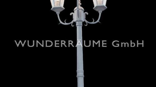 Straßenlaterne  in  kupfer  oder  weiß, WUNDERRÄUME GmbH vermietet: Dekoration/Kulisse für Event, Messe, Veranstaltung, Incentive, Mitarbeiterfest, Firmenjubiläum