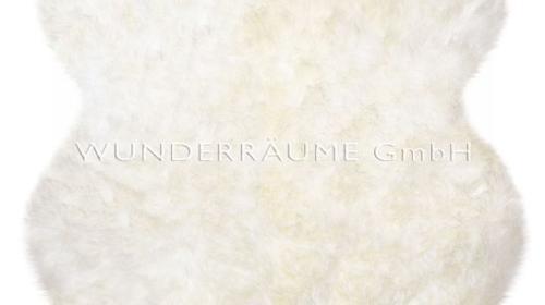 Schaffell, weiß - WUNDERRÄUME GmbH vermietet: Dekoration/Kulisse für Event, Messe, Veranstaltung, Incentive, Mitarbeiterfest, Firmenjubiläum
