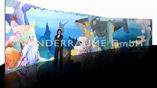 """Prospekt """"Unterwasserwelt"""" - WUNDERRÄUME GmbH vermietet: Dekoration/Kulisse für Event, Messe, Veranstaltung, Incentive, Mitarbeiterfest, Firmenjubiläum"""