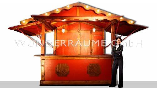 Kleine Holzhütte - WUNDERRÄUME GmbH vermietet: Dekoration/Kulisse für Event, Messe, Veranstaltung, Incentive, Mitarbeiterfest, Firmenjubiläum