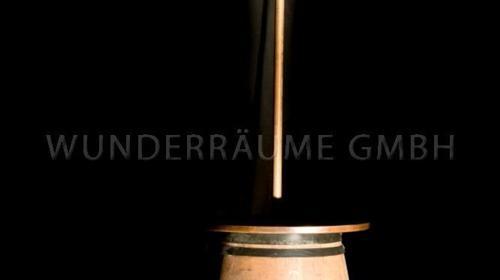 Stehtisch Fass mit Schiff -  WUNDERRÄUME GmbH vermietet: Dekoration/Kulisse für Event, Messe, Veranstaltung, Incentive, Mitarbeiterfest, Firmenjubiläum