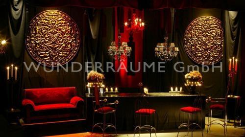Black Lounge - WUNDERRÄUME GmbH vermietet: Dekoration/Kulisse für Event, Messe, Veranstaltung, Incentive, Mitarbeiterfest, Firmenjubiläum