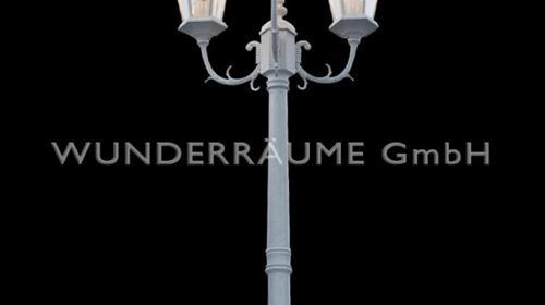 Straßenlaterne in kupfer oder weiß - WUNDERRÄUME GmbH vermietet: Dekoration/Kulisse für Event, Messe, Veranstaltung, Incentive, Mitarbeiterfest, Firmenjubiläum