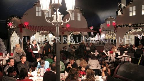 Restaurant Winterzauber - WUNDERRÄUME GmbH vermietet: Dekoration/Kulisse für Event, Messe, Veranstaltung, Incentive, Mitarbeiterfest, Firmenjubiläum