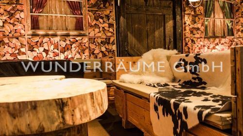 Lounge Kaminzimmer - WUNDERRÄUME GmbH vermietet: Dekoration/Kulisse für Event, Messe, Veranstaltung, Incentive, Mitarbeiterfest, Firmenjubiläum