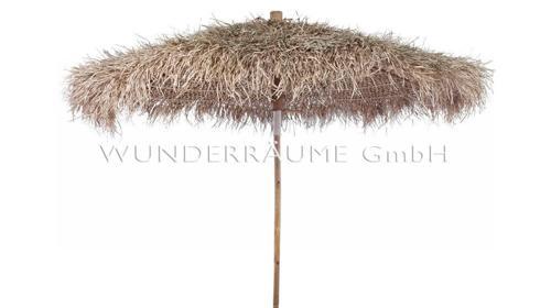 Schirm Bambus - WUNDERRÄUME GmbH vermietet: Dekoration/Kulisse für Event, Messe, Veranstaltung, Incentive, Mitarbeiterfest, Firmenjubiläum