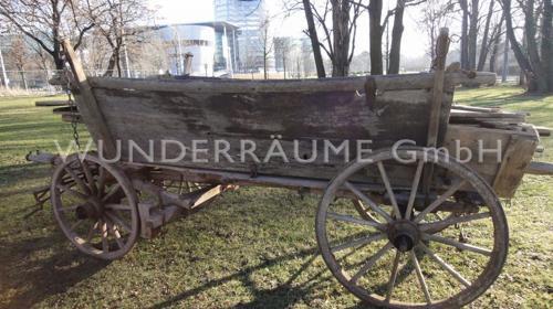 Rustikale Heuwagen - Holzwagen - Leiterwagen u.v.m.-WUNDERRÄUME GmbH vermietet: Dekoration / Kulisse für Event, Messe, Veranstaltung, Incentive, Mitarbeiterfest, Firmenjubiläum