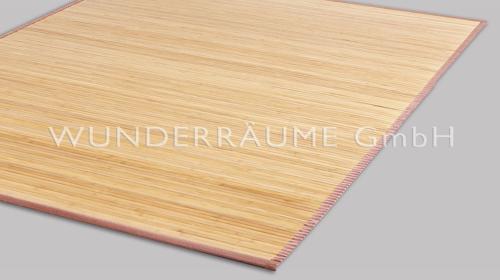 Teppich Bambus - WUNDERRÄUME GmbH vermietet: Dekoration/Kulisse für Event, Messe, Veranstaltung, Incentive, Mitarbeiterfest, Firmenjubiläum