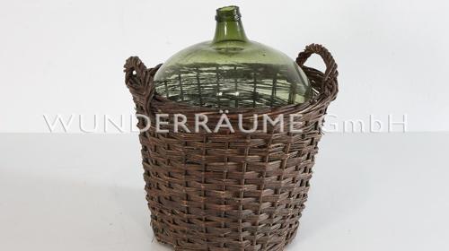 Weinballon im Korb - WUNDERRÄUME GmbH vermietet: Dekoration/Kulisse für Event, Messe, Veranstaltung, Incentive, Mitarbeiterfest, Firmenjubiläum