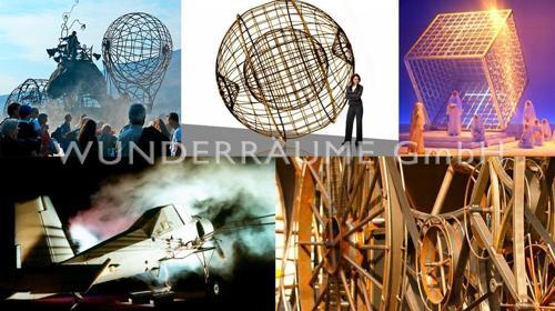 Stahlwelt & Stahlobjekte: einmalige Deko! WUNDERRÄUME GmbH vermietet: Dekoration / Kulisse für Event, Messe, Veranstaltung, Incentive, Mitarbeiterfest, Firmenjubiläum
