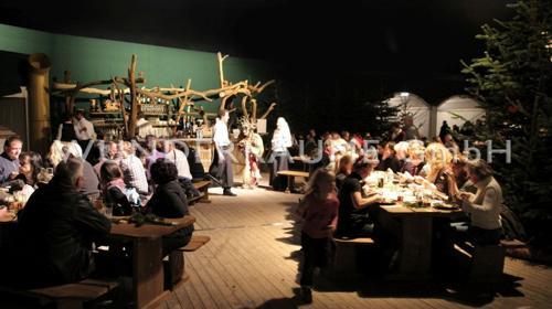 Restaurant Waldflair - WUNDERRÄUME GmbH vermietet: Dekoration/Kulisse für Event, Messe, Veranstaltung, Incentive, Mitarbeiterfest, Firmenjubiläum
