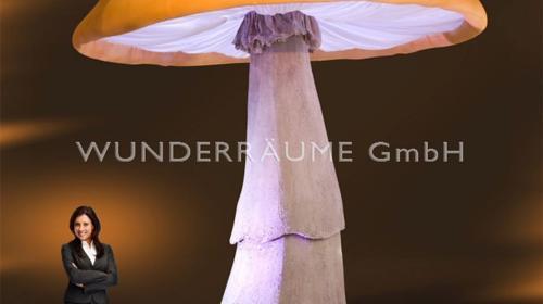 10 Riesenpilze bis 5m Höhe - Pilze XXL, WUNDERRÄUME GmbH vermietet: Dekoration / Kulisse für Event, Messe, Veranstaltung, Incentive, Mitarbeiterfest, Firmenjubiläum