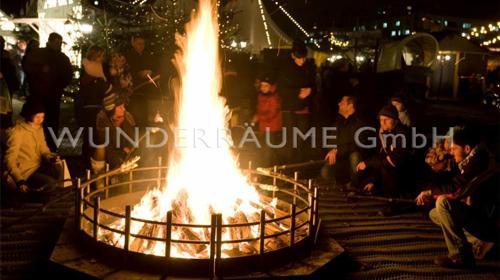Feuerschalen & Brandschalen XXL  - Metall WUNDERRÄUME GmbH vermietet: Dekoration / Kulisse für Event, Messe, Veranstaltung, Incentive, Mitarbeiterfest, Firmenjubiläum