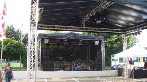 Bühnendach / Open Air Bühne Prolyte H30V 7,0x5,0x3,5 m