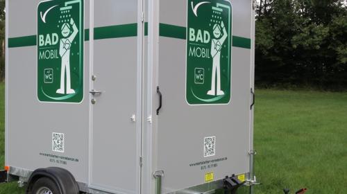 Duschwagen, Mobiles Bad, Badezimmer