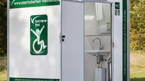 Toilettenwagen / Barrierefrei