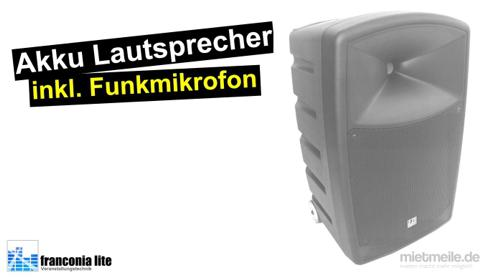 Akku-Lautsprecher - Mobile Musikanlage