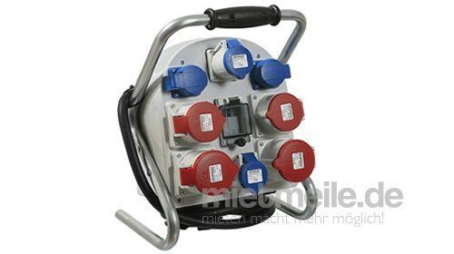 Mobiler Stromverteiler, Baustromverteiler 32 A schon ab 40,00 € pro Tag mieten!