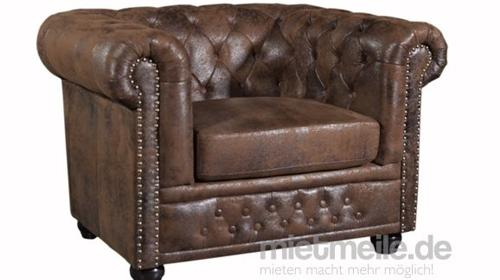 Sessel Conno Chesterfield Vintage Look
