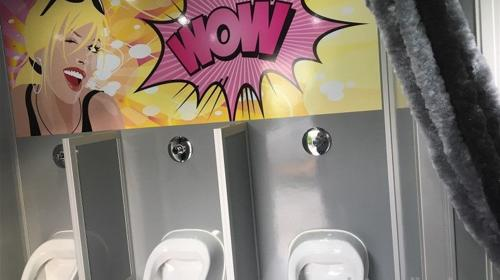 "Toilettenwagen ""Trendy"" mieten, inkl.20Km, Auf-/.Abbau, 1x Personal..."