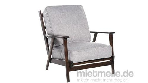 Sessel Soho Webstoff Grau