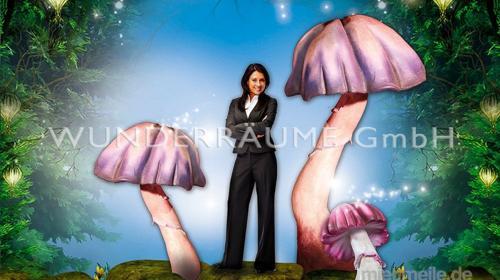 Pilze groß, Pilzset Quallenpilze (6 Pilze) - WUNDERRÄUME GmbH vermietet: Dekoration/Kulisse für Event, Messe, Veranstaltung, Incentive, Mitarbeiterfest, Firmenjubiläum
