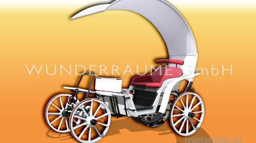 Kutsche - WUNDERRÄUME GmbH vermietet: Dekoration/Kulisse für Event, Messe, Veranstaltung, Incentive, Mitarbeiterfest, Firmenjubiläum