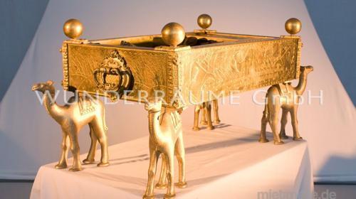 Ofen mit Kamelen - WUNDERRÄUME GmbH vermietet: Dekoration/Kulisse für Event, Messe, Veranstaltung, Incentive, Mitarbeiterfest, Firmenjubiläum